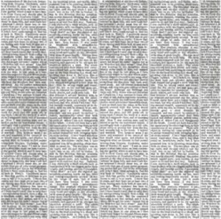 {Cart&Graph}Textile adhésif JOURNAL 30x30 cm - Fabric's