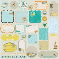 {Lady bird}Chipboards autocollants - Prima