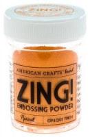 Poudre à embosser ZING APRICOT - A.Crafts
