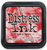 Distress ink - Barn door