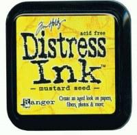 Distress ink - Mustard seed