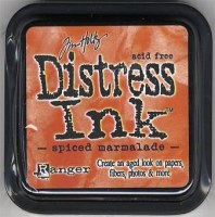 Distress ink - Spiced marmelade