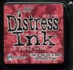 Distress ink - Fire brick