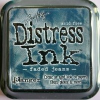 Distress ink - Faded jean