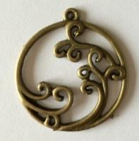 Charm FLORA 1 bronze