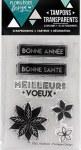 {Capsule décembre 2016} Tampons clear BONNE SANTE - Florilèges