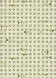 {Fil&Bulle}Textile adhésif OEILLETS 43x30 cm - Fabric's