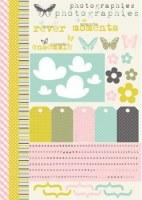 {Fil&Bulle}Textile adhésif DECOUPES 43x30 cm - Fabric's