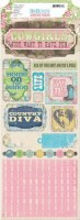 {Prairie chic}Stickers COUNTRY DIVA - Bo bunny