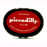 Encreur Piccadilly RED TOMATO - Kesi'art