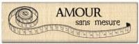 Tampon bois METRE RUBAN - Florilèges