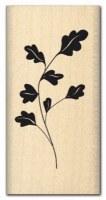 Tampon bois FEUILLAGE DELICAT - Florilèges