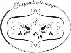 Tampon bois SUSPENDRE LE TEMPS - FD