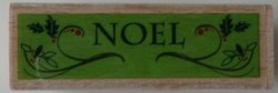 Tampon bois NOEL - Dovecraft