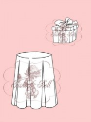 **Tampons clear GIFT AND TABLE - Belles'n whistles