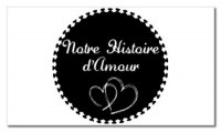 Tampon clear NOTRE HISTOIRE D'AMOUR - Chrysalide stamps