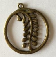 Charm FLORA 4 bronze