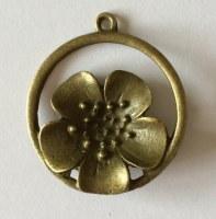 Charm FLORA 6 bronze