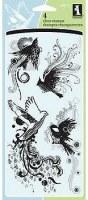 Tampons clear MORPHIC BIRDS - inkadinkado