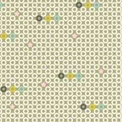 {Fil&Bulle}Textile adhésif OEILLETS 30x30 cm - Fabric's