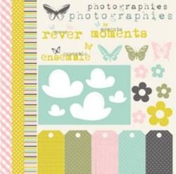 {Fil&Bulle}Textile adhésif DECOUPES 30x30 cm - Fabric's