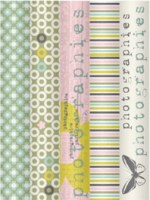 {Fil&Bulle}Pack 5 rouleaux tape assortis 01 - Fabric's