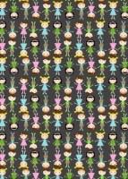 {Jodie&Chico}Textile adhésif Jodie 43x30 cm - Fabric's