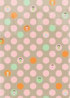 {Jodie&Chico}Textile adhésif Pastille 43x30 cm - Fabric's