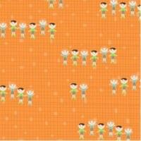 {Jodie&Chico}Textile adhésif Chico 30x30 cm - Fabric's