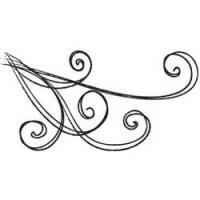 Tampon clear Wind swirl - Daisy Bucket