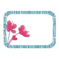Tampon clear FLOWER FRAME - Imaginisce