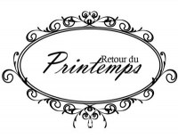 Tampon clear LE RETOUR DU PRINTEMPS - Pandore