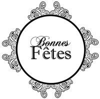 Tampon clear BONNES FETES - Pandore