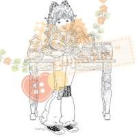 Tampon clear JACQUELINE BAKING (Sarah Kay)