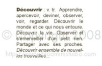 Tampon DEFINITION DECOUVRIR - Bloomini
