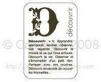 Tampon ENCADRE DECOUVRIR - Bloomini