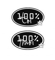 Tampon 100% TOI, 100% MOI - Lolascrap
