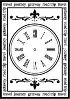 Tampon CLOCK - Teresa Collins