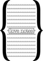 Tampon CRUSH LOVE NOTES - Teresa Collins