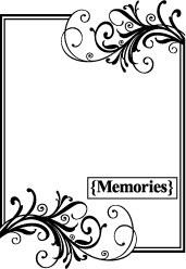 Tampon MEMORIES - Teresa Collins