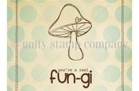 Tampon monté sur mousse REAL FUNGI - Unity stamp