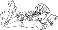 Tampon non monté A GOOD BOOK - Wags'n whiskers