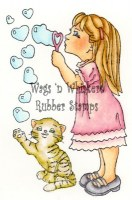 Tampon non monté BUBBLE FUN - Wags'n whiskers