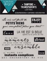 Tampons clear PETITS RIENS - Florilèges