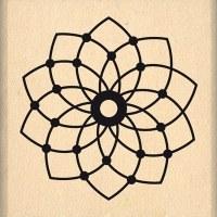 {Dakota valley}Tampon bois PETITE FLEUR DE REVE - Florilèges