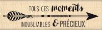 {Dakota valley}Tampon bois TOUS CES MOMENTS - Florilèges