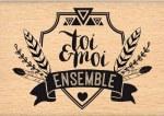 {Dakota valley}Tampon bois BLASON ETHNIQUE - Florilèges