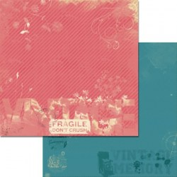 {Vintage memory}Postcard - Melucrafts design