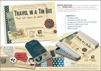 Kit Carnet de voyage YOUR TRAVEL IN A TIN BOX - Quilt'n wood