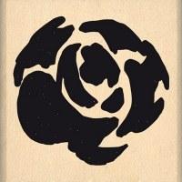 {Hello watercolor}Tampon bois PETITE ROSE AQUARELLE - Florilèges